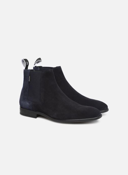 Bottines et boots PS Paul Smith Gerald Bleu vue 3/4