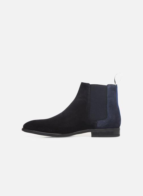 Bottines et boots PS Paul Smith Gerald Bleu vue face