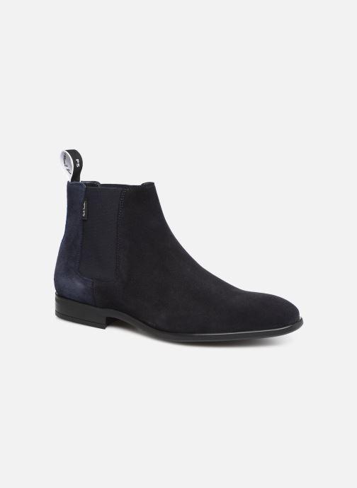 Bottines et boots PS Paul Smith Gerald Bleu vue détail/paire