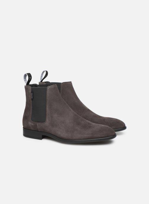 Bottines et boots PS Paul Smith Gerald Gris vue 3/4