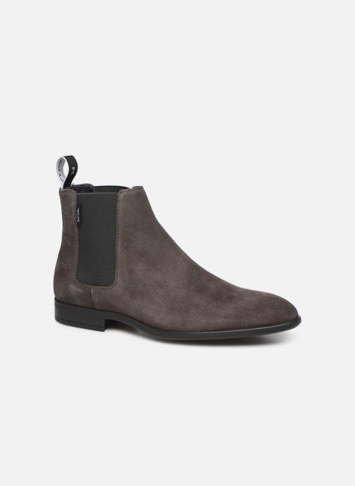 Bottines et boots PS Paul Smith Gerald Gris vue détail/paire