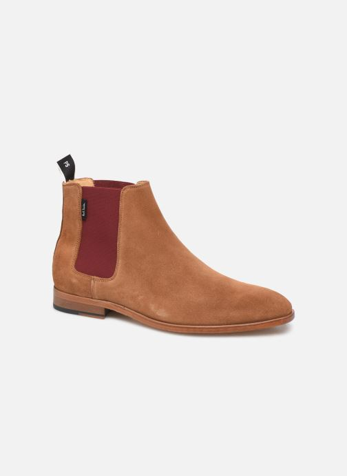 Bottines et boots PS Paul Smith Gerald Marron vue détail/paire
