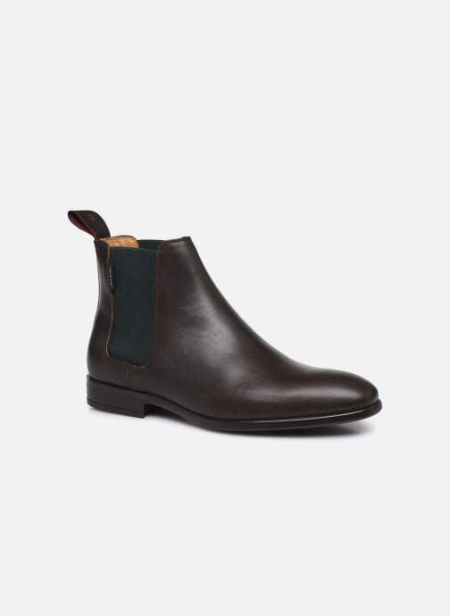 Bottines et boots PS Paul Smith Gerald Marron vue détail/paire