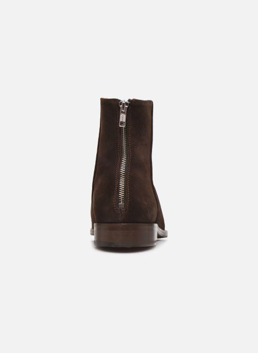 Bottines et boots PS Paul Smith Jean Marron vue droite