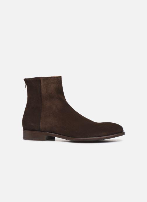 Bottines et boots PS Paul Smith Jean Marron vue derrière