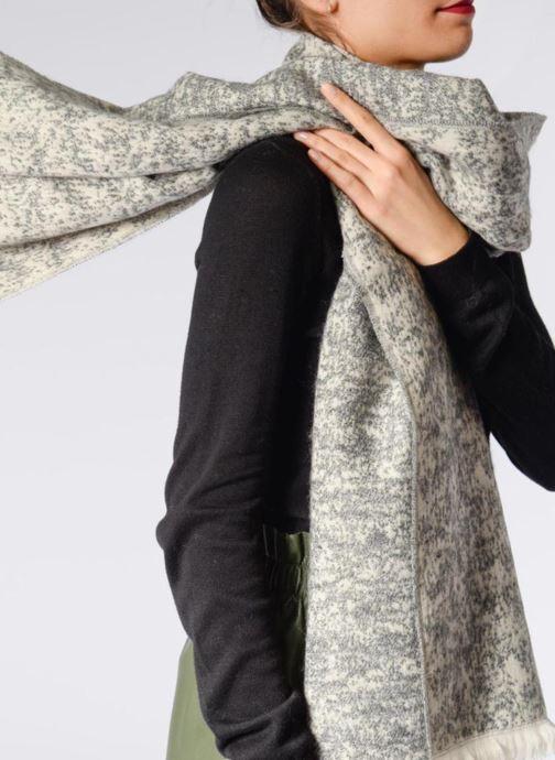 Echarpes et Foulards Pieces RINDA Long scarf 65x190 Noir vue haut