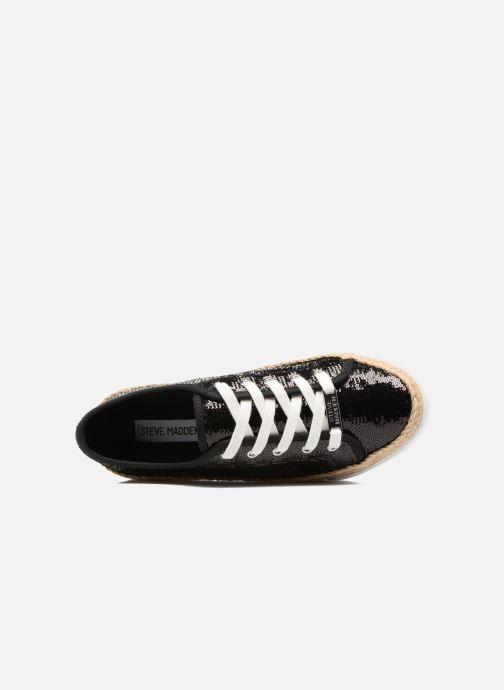Sneakers Steve Madden Sammer Zwart links