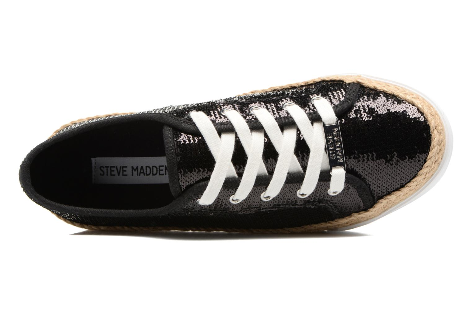 Trainers Steve Madden Sammer Black view from the left
