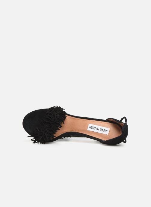 Sandales et nu-pieds Steve Madden Sassey Noir vue gauche
