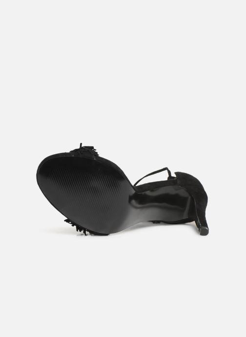 Sandales et nu-pieds Steve Madden Sassey Noir vue haut