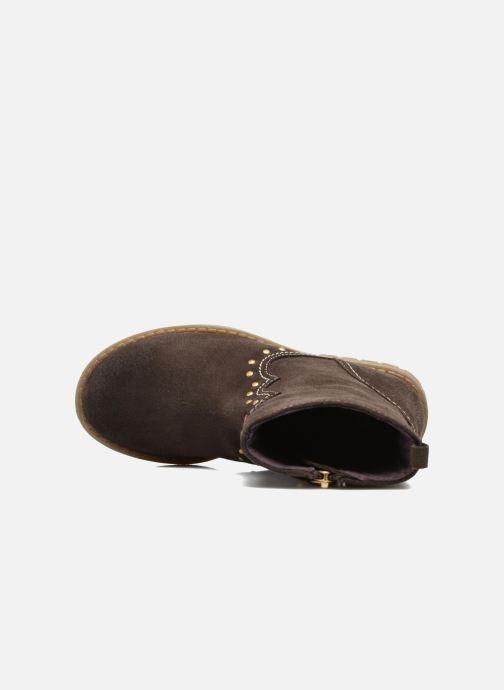 Bottines et boots Gioseppo Marshall Marron vue gauche