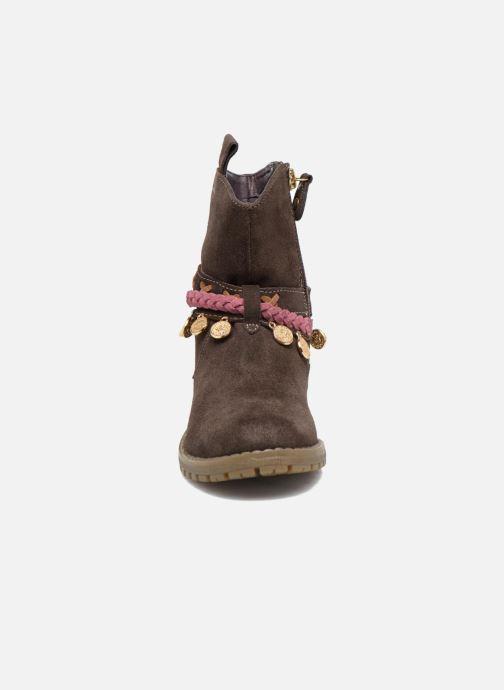 Stiefel Gioseppo Mohicana braun schuhe getragen
