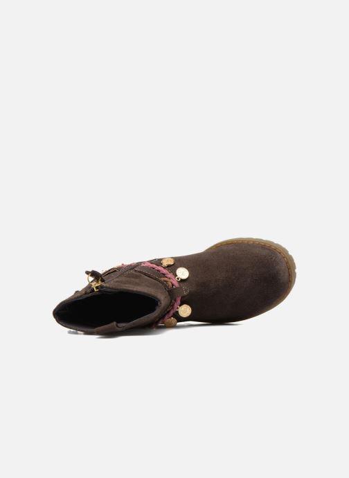Stiefel Gioseppo Mohicana braun ansicht von links