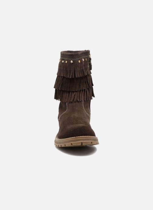 Stiefel Gioseppo Nakoma braun schuhe getragen