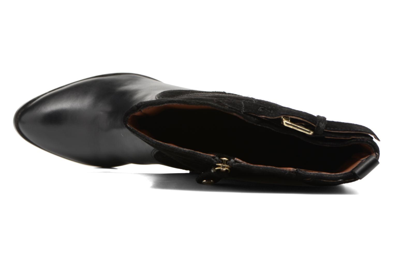 Botas Gioseppo Alabaster Negro vista lateral izquierda