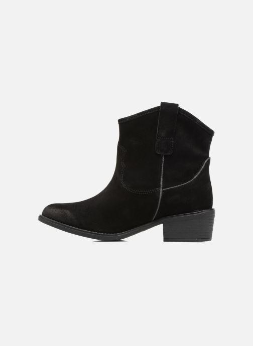 Bottines et boots Gioseppo Bastrop Noir vue face