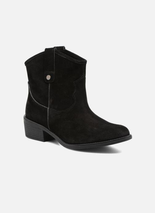 Bottines et boots Gioseppo Bastrop Noir vue détail/paire