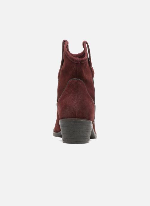 Bottines et boots Gioseppo Bastrop Bordeaux vue droite