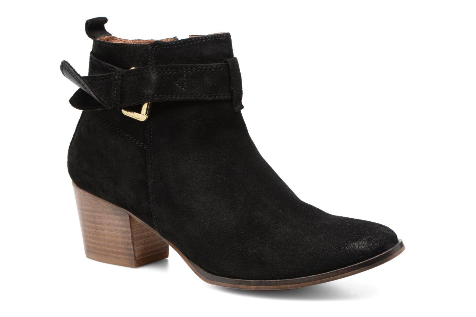 Ankle boots Gioseppo Dothan Black detailed view/ Pair view