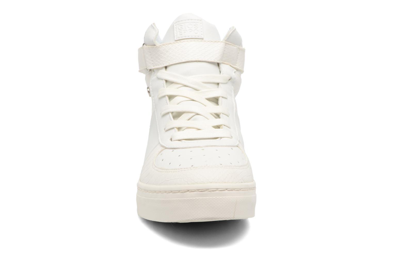 Baskets Gioseppo Finia Blanc vue portées chaussures