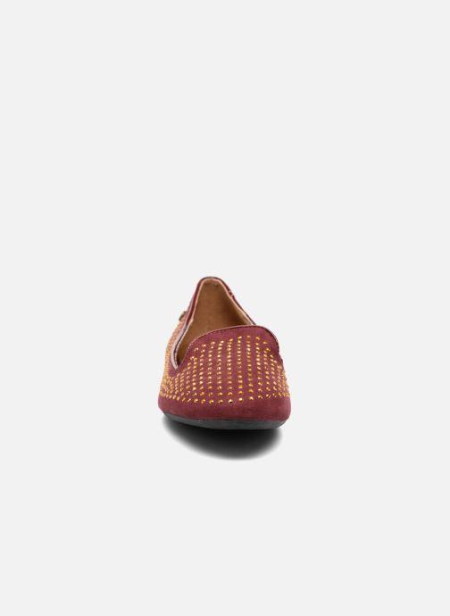 Mocassins Gioseppo Gladys Bordeaux vue portées chaussures