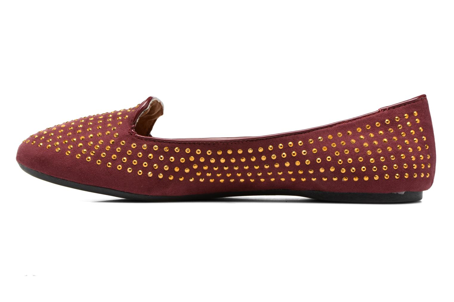 Loafers Gioseppo Gladys Burgundy front view