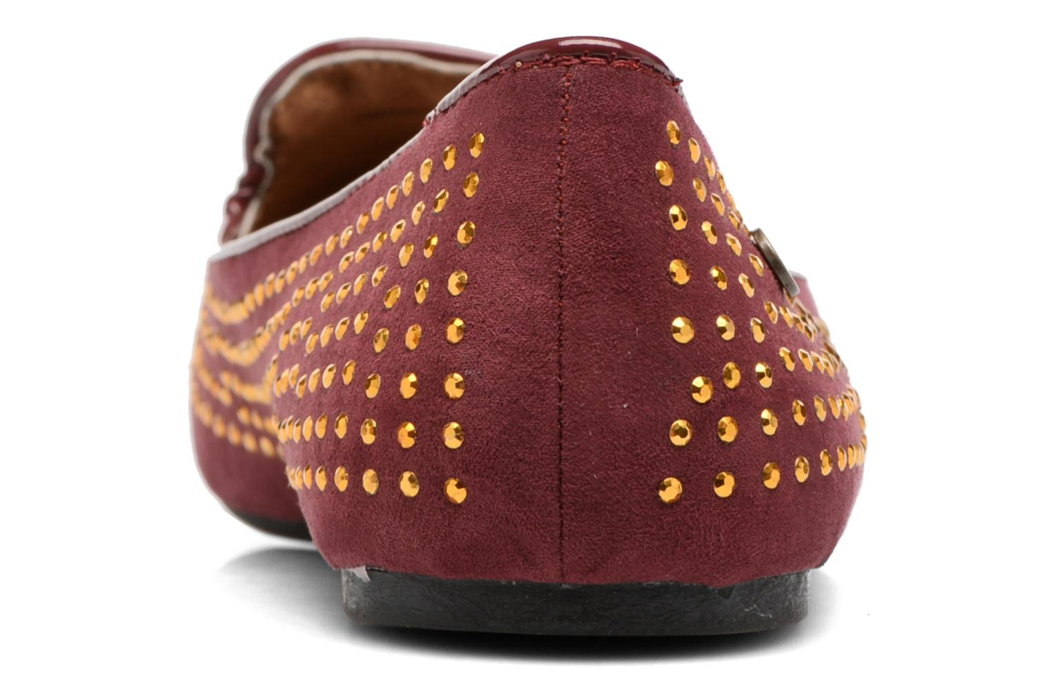 Loafers Gioseppo Gladys Burgundy view from the right