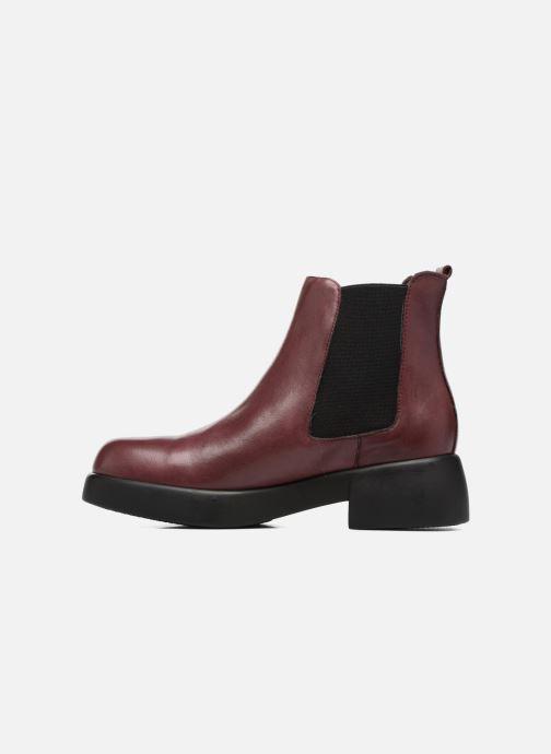 Bottines et boots Gioseppo Gregara Bordeaux vue face