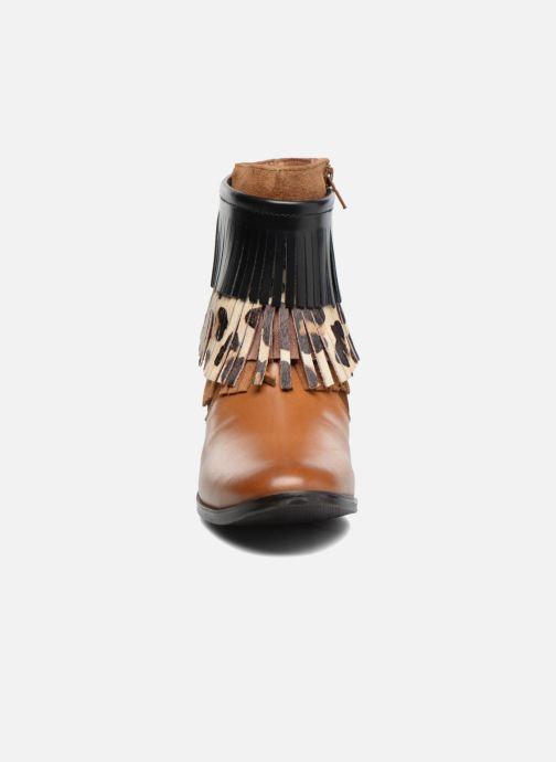 Stiefeletten & Boots Gioseppo Indiana braun schuhe getragen