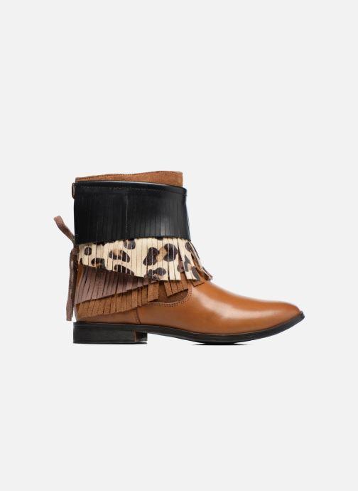 Stiefeletten & Boots Gioseppo Indiana braun ansicht von hinten