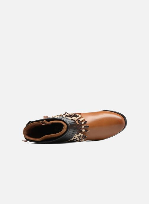 Bottines et boots Gioseppo Indiana Marron vue gauche
