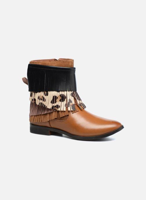 Bottines et boots Gioseppo Indiana Marron vue détail/paire