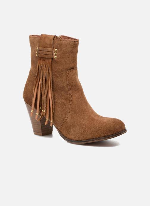 Bottines et boots Gioseppo Shelby Marron vue détail/paire
