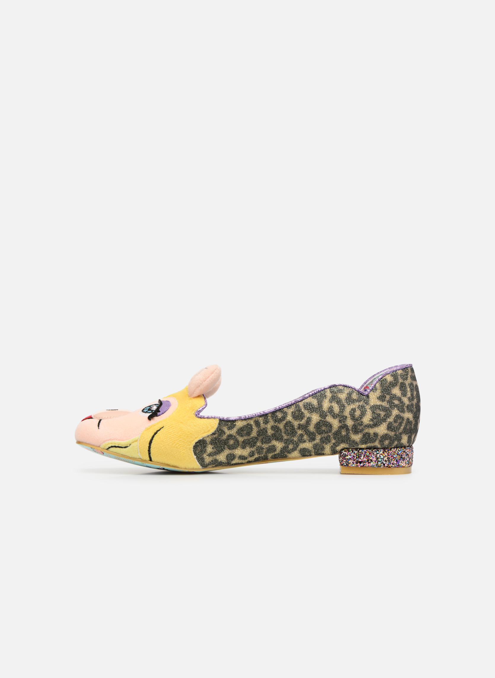 Mocassins Irregular Choice Her Moiness Multicolore vue face