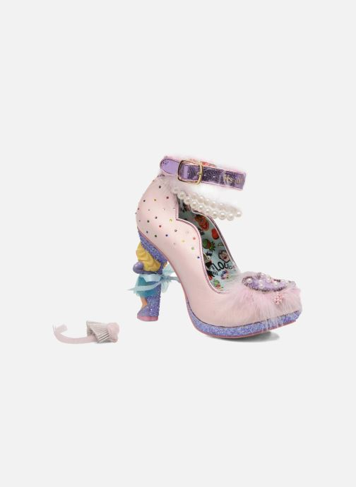 High heels Irregular choice All About Moi Pink 3/4 view
