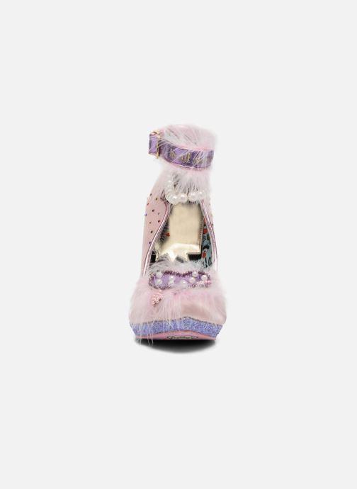 High heels Irregular choice All About Moi Pink model view