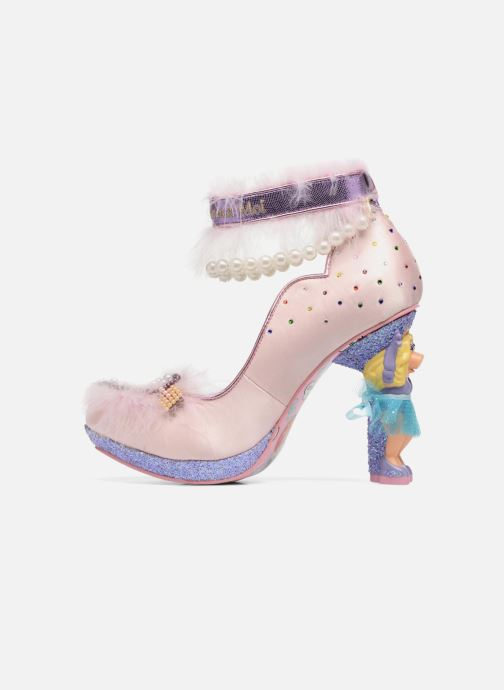 High heels Irregular choice All About Moi Pink front view