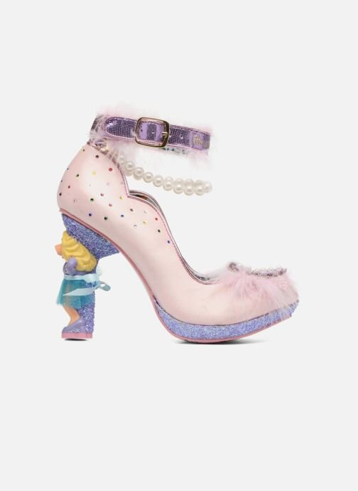High heels Irregular choice All About Moi Pink back view