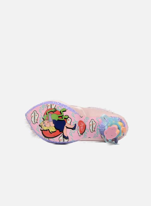 High heels Irregular choice All About Moi Pink view from above