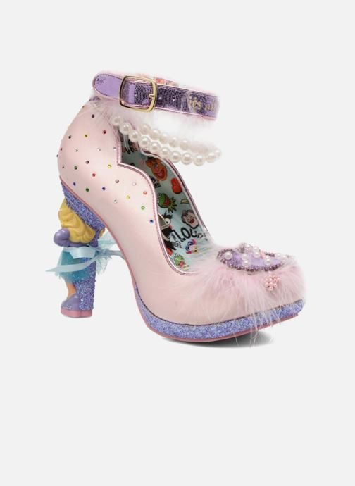 High heels Irregular choice All About Moi Pink detailed view/ Pair view
