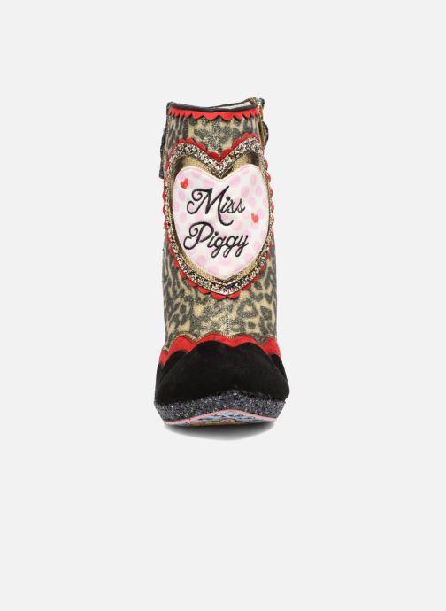 Bottines et boots Irregular Choice Fierce Piggy Multicolore vue portées chaussures