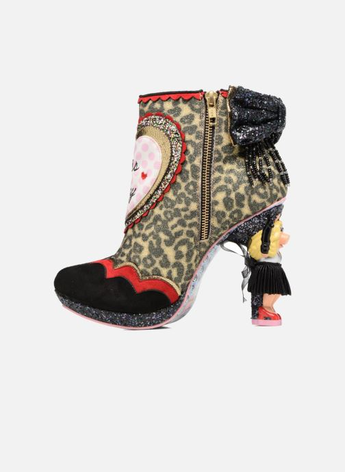 Bottines et boots Irregular Choice Fierce Piggy Multicolore vue face