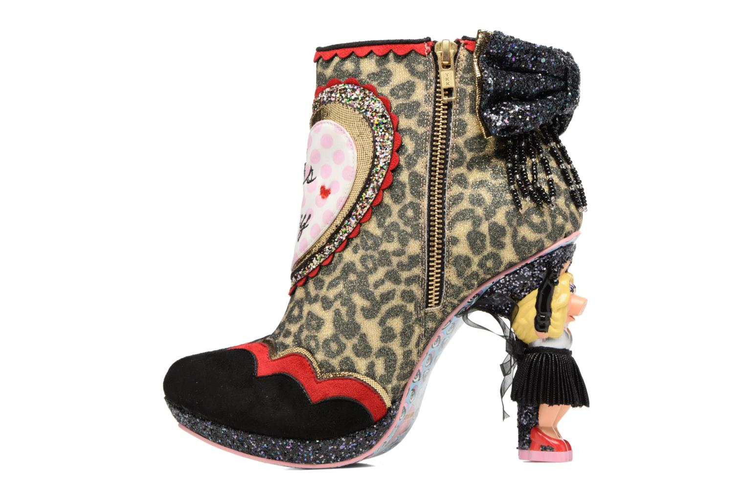 Bottines et boots Irregular Choice Fierce Piggy Multicolore vue face