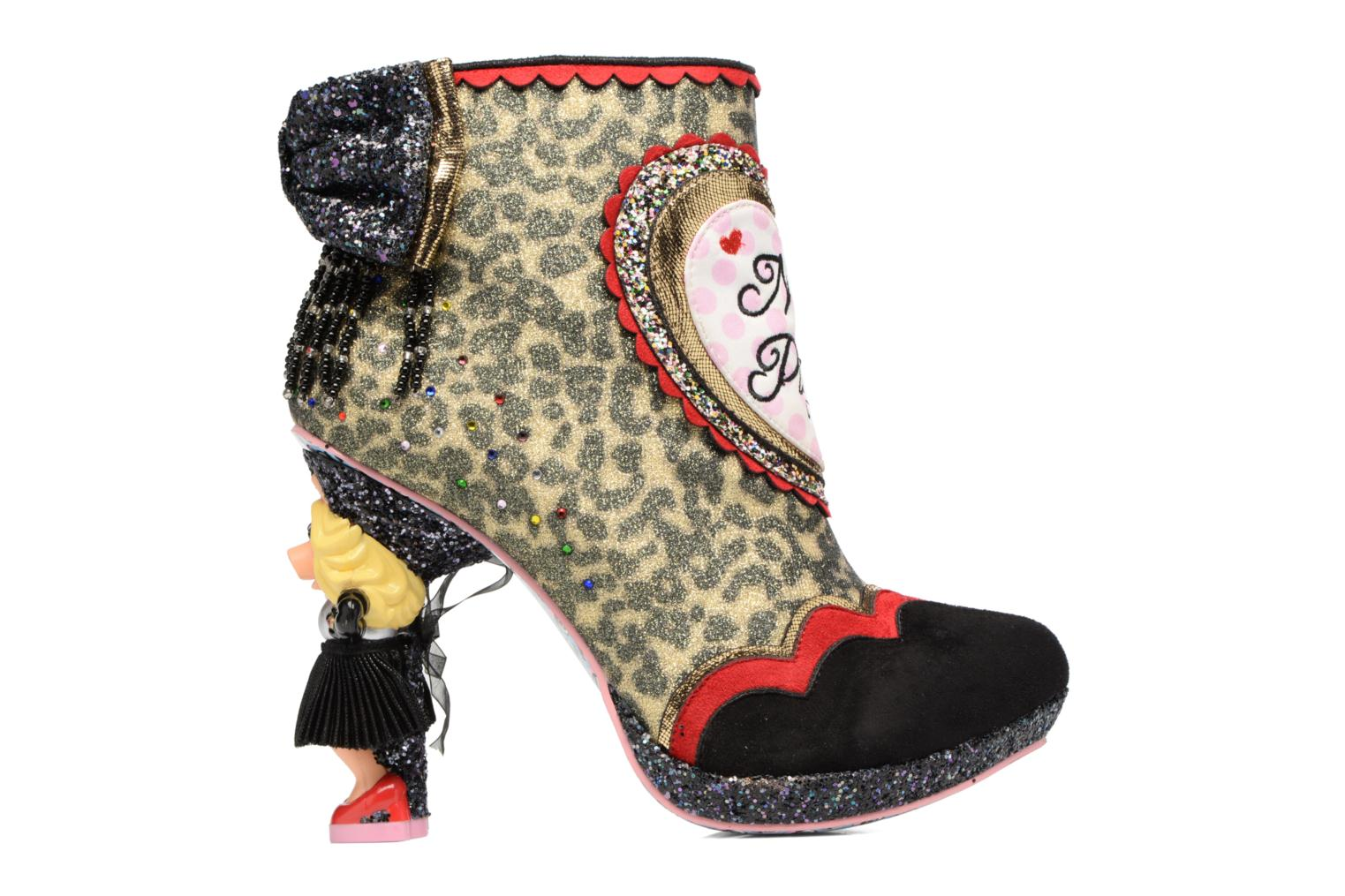Bottines et boots Irregular Choice Fierce Piggy Multicolore vue derrière