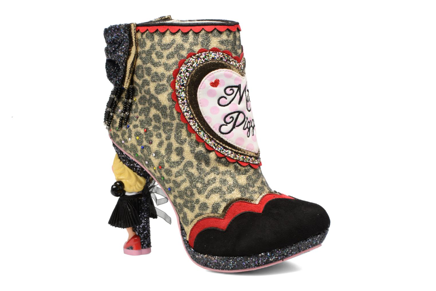 Bottines et boots Irregular Choice Fierce Piggy Multicolore vue détail/paire