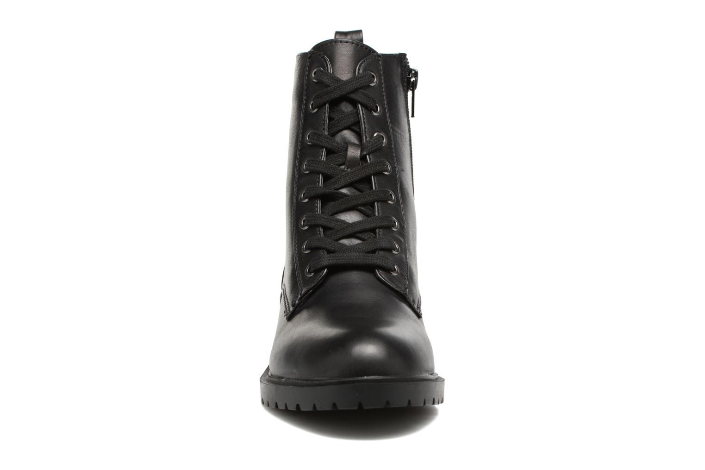 Bottines et boots Steve Madden Officer Noir vue portées chaussures