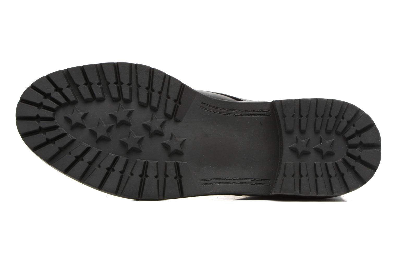 Bottines et boots Steve Madden Officer Noir vue haut