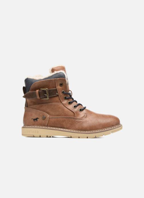 Boots en enkellaarsjes Mustang shoes Didi Bruin achterkant