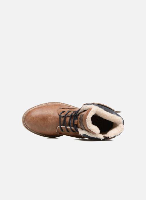 Bottines et boots Mustang shoes Didi Marron vue gauche
