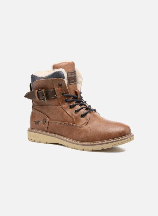 Bottines et boots Mustang shoes Didi Marron vue détail/paire